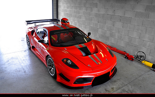 The actual Ferrari F430 GT3 as well as F430 Scuderia GT3 Sports vehicle
