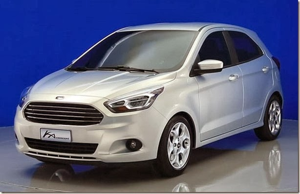 Kia Figo -- Created for the actual Youthful Era