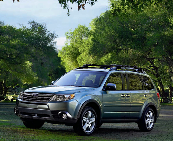 '09 Subaru Forester Street Evaluation -- Much more Space, Discounted