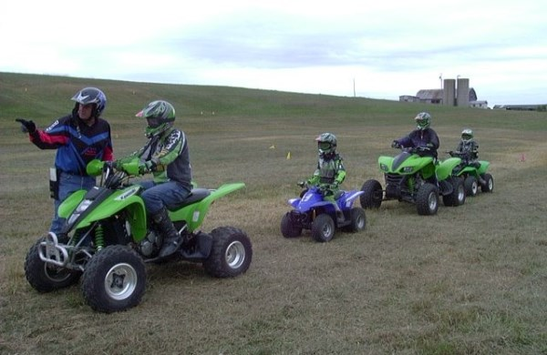 ATV Security With regard to Children -- Keep the Kid Secure With one of these Ideas