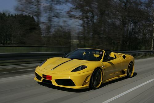 The actual Ferrari Scuderia Index 16M Sports vehicle