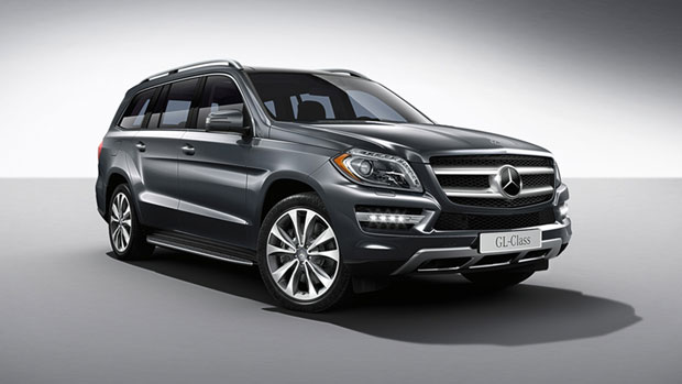 The actual Mercedes ML350 BlueTec